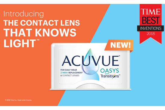 ACUVUE Oasys with Transitions In-Office PPT